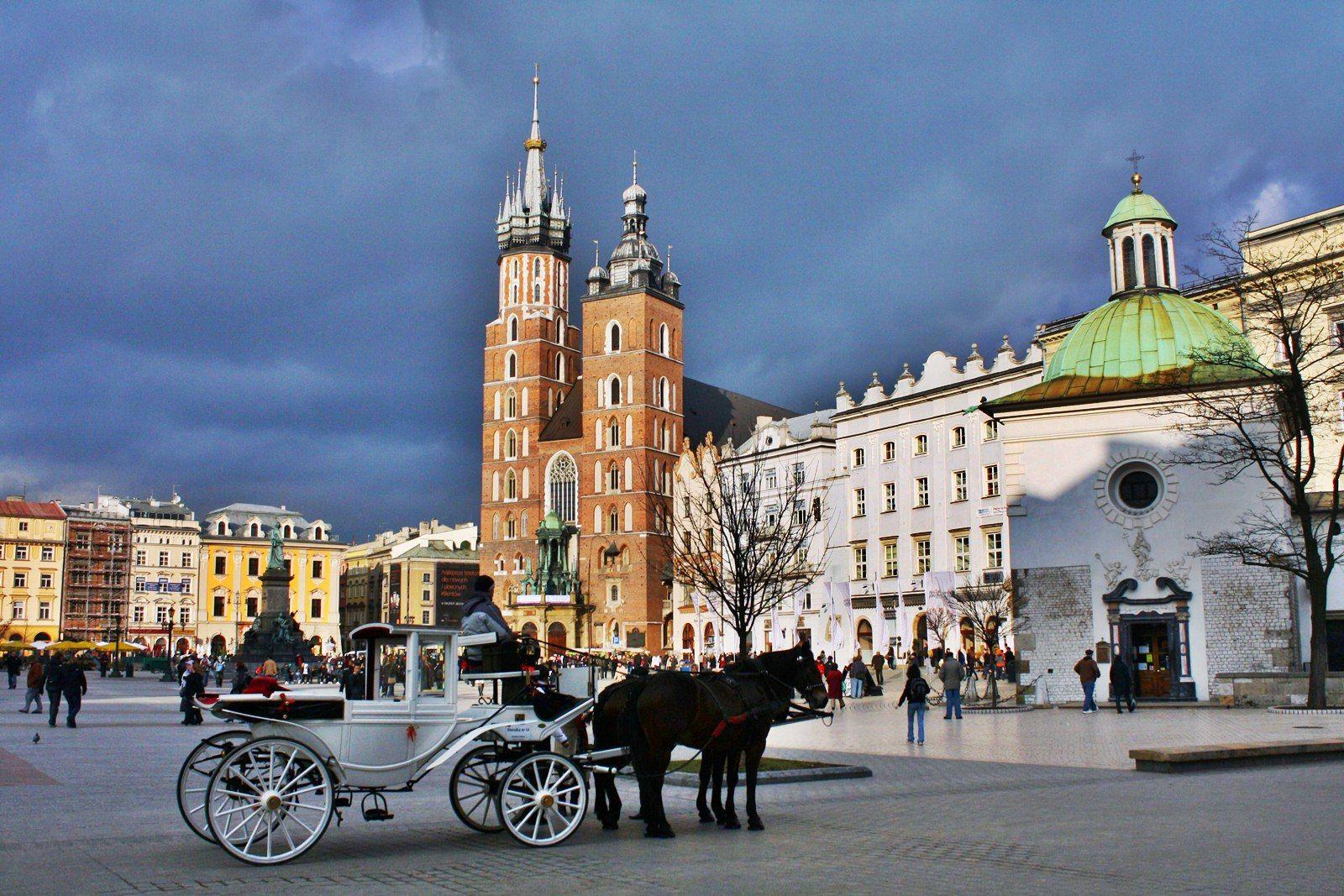 Ночная жизнь в Кракове